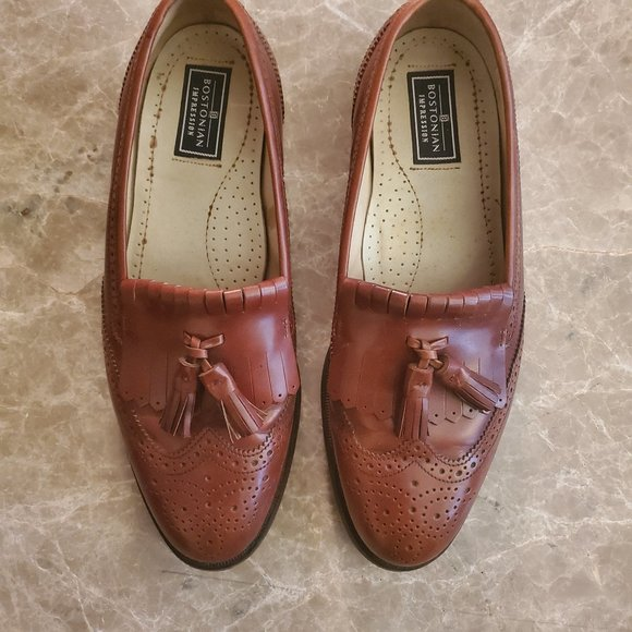 Bostonian Other - Bostonian  Brown leather tassel loafers. Pre-owned